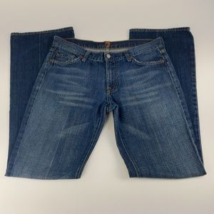 7 for all Mankind Jeans Size 31 Low Rise Flare